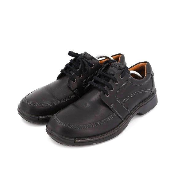 Fusion Ii Tie Oxford Black Leather Shoe